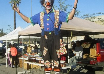 Clown at The Market