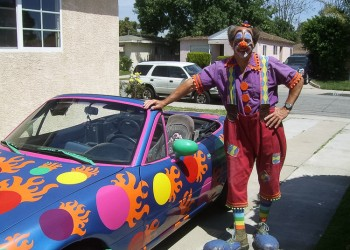 Clown Car in the Driveway